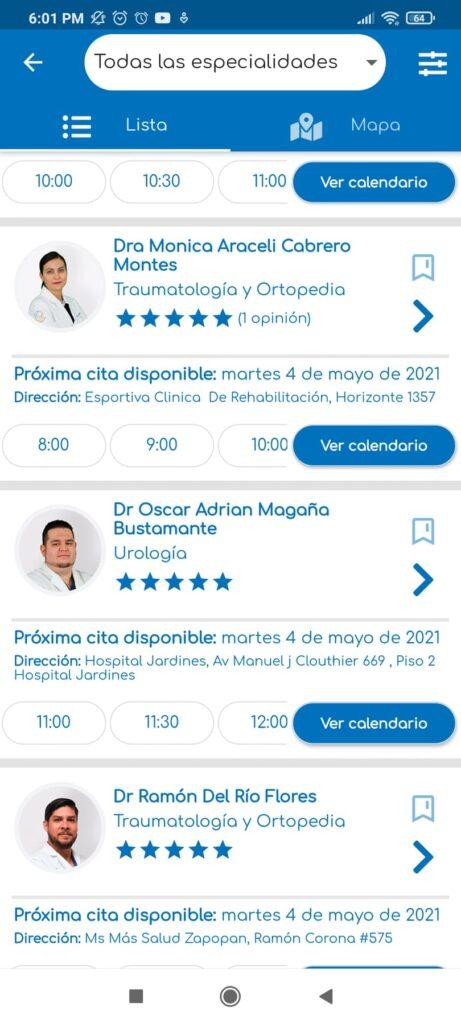 meddi- suscripciones app doctores